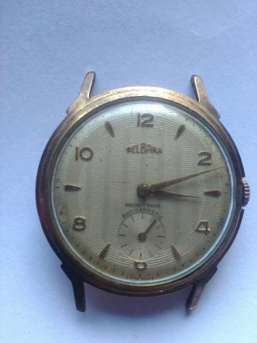 Reloj delbana antiguo - escucho ofertas a reparar