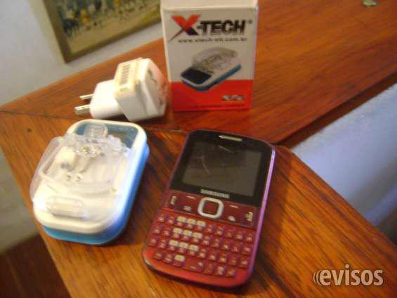 Vendo celular sansung, a tarjeta personal, con cargador