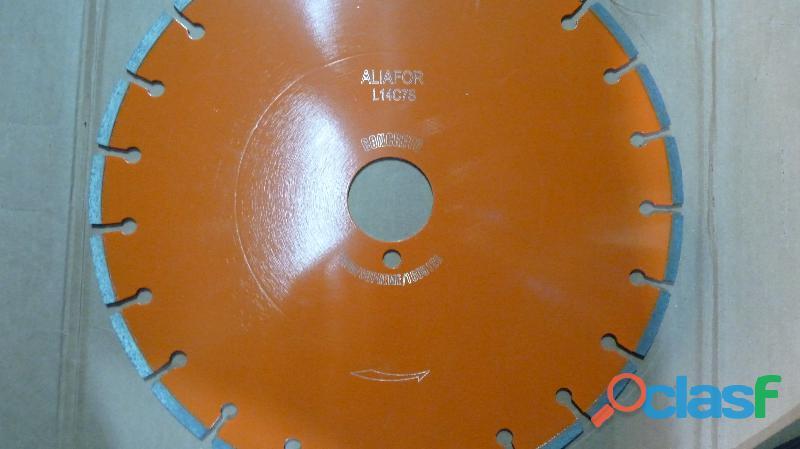 Disco para sierra sensitiva aliafor modelo l 14c7s