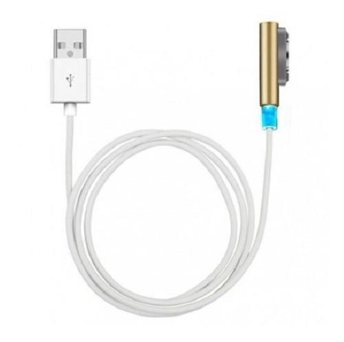 Cable usb cargador magnético de sony xperia z1 z2 z3 a510