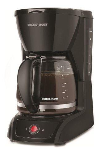Cafetera black and decker 1201 12 tazas filtro permanente