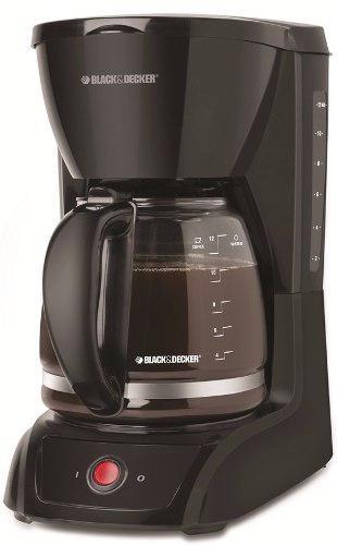 Cafetera de filtro black&decker para 1,8 lts cm1201b gtia