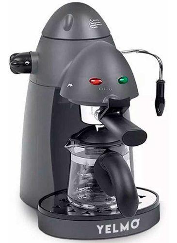 Cafetera express yelmo ce5106 capuchino vapor jarra vidrio