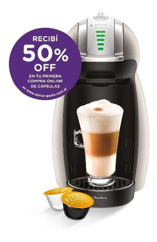 Cafetera moulinex dolce gusto genio 2 outlet