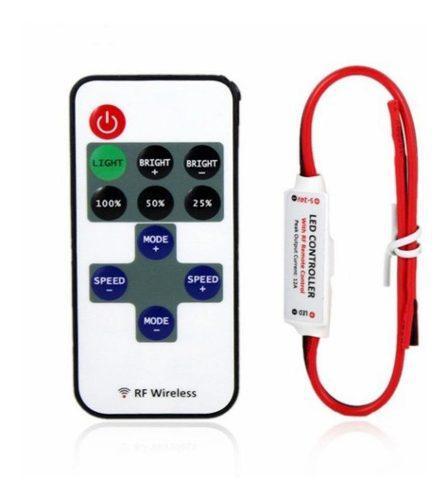 Dimmer para tira de luz led inalámbrico rf 12v controladora