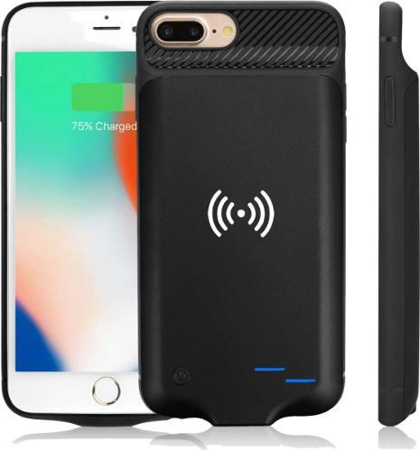Funda cargadora power bank wireless iphone 6 6s 7 8 6 plus
