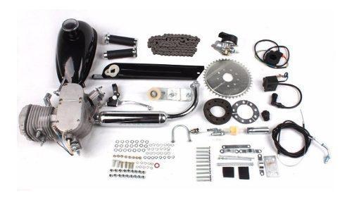 Kit motor bicicleta 80cc 2019 tanque 2,5l + regalos