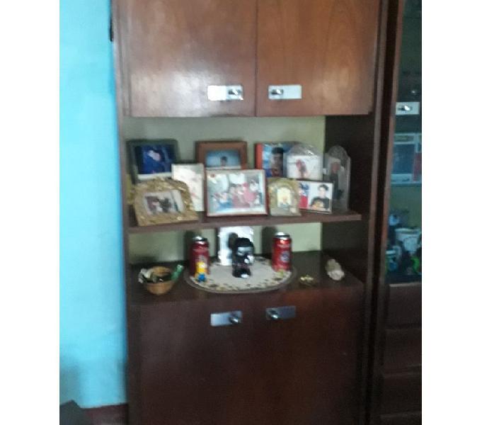 Modular madera 4 puertas y estante