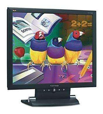 Monitor lcd viewsonic 17 pulgadas leer bien