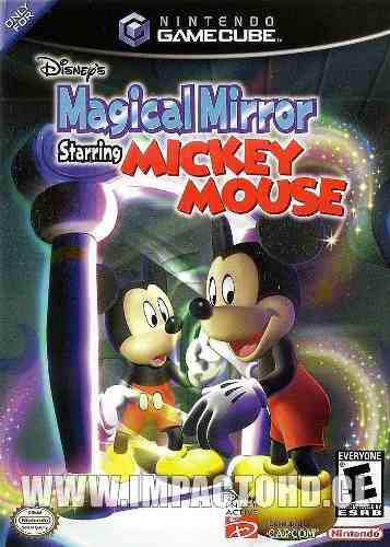 Nintendo gamecube mickey mouse magical mirror original usado