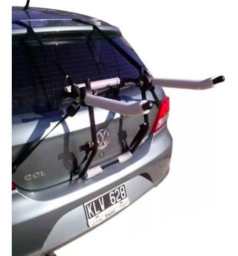 Portabicicleta auto reforzado con 6 agarres porta bicicleta