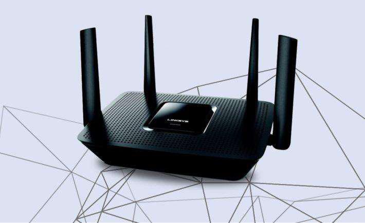 Router linksys ea8300 tri band wifi ac2200 mu-mino