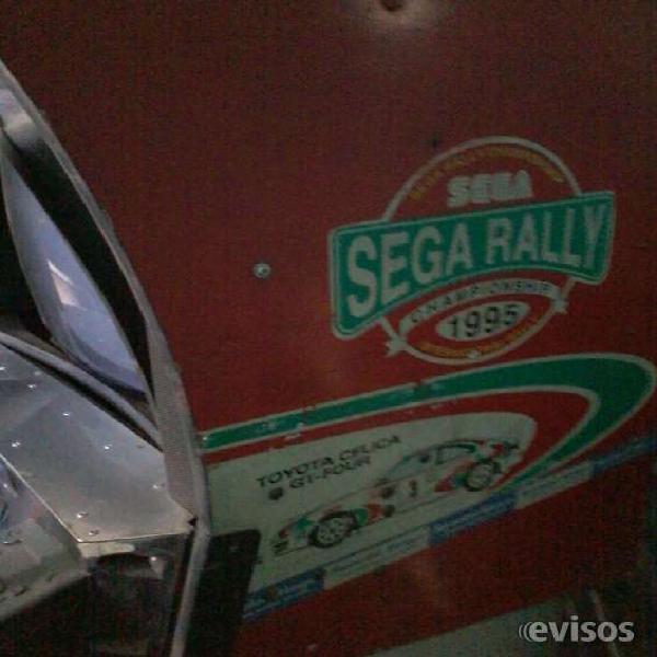 Sega rally doble de manejo completa s placas liquido en