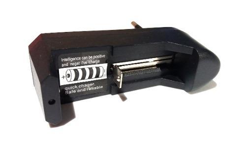 Cargador baterias universal 18650 ultrafire a 3.7 v a 220 v
