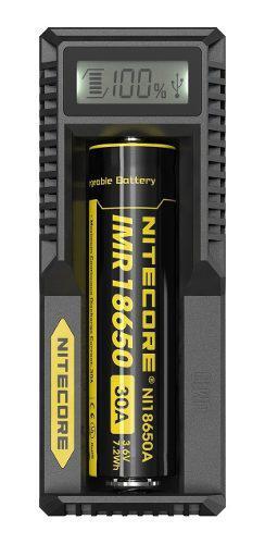 Cargador nitecore de baterias um10 usb 1 slot de carga y dis