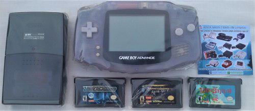 Consola game boy advance + juegos + regalo