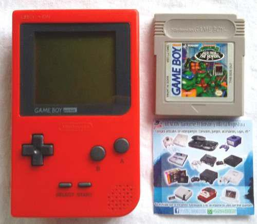 Consola game boy pocket c/juego / envío gratis / ppc