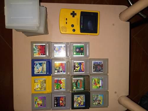 Game boy color + 15 juegos