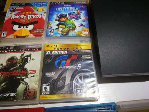 Play 3 usada con juegos fisicos