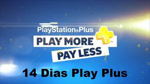 Play plus 14 días ps4 ps3 juega online con tu cuenta!