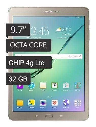 Samsung galaxy tab s2 4g lte smt819 32 gb caja nuevas oferta
