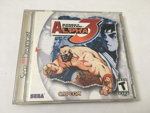 Street fighter alpha 3 original dreamcast loop123