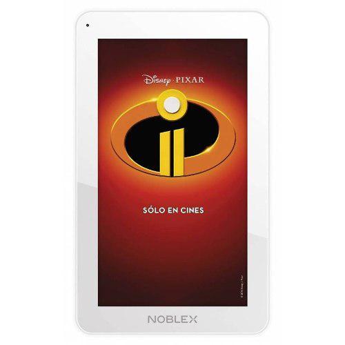 Tablet noblex disney pixar increíbles 2 t7a6in
