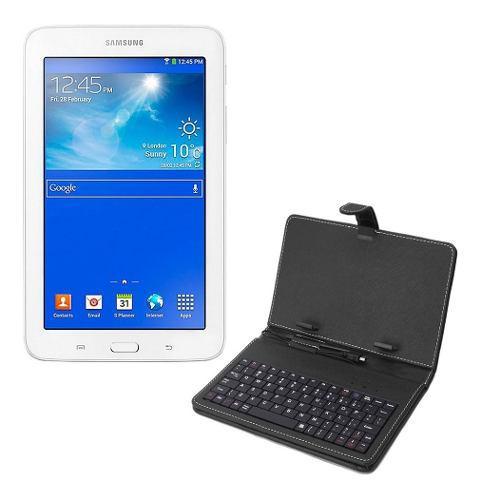 Tablet samsung galaxy gps wifi bluetooth 7 pulgadas + funda