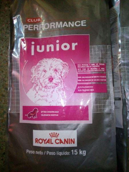 Alimento performance cachorros x 15kg