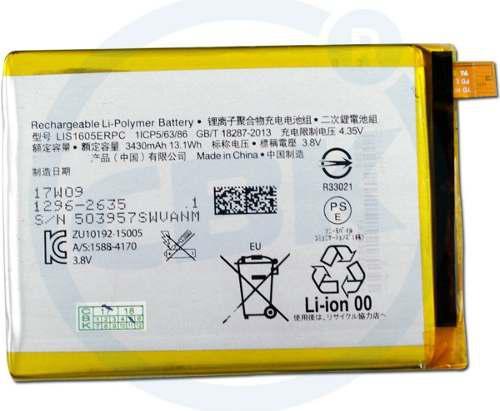 Batería sony xperia z5 premium 3430mah bateria lis1605erpc