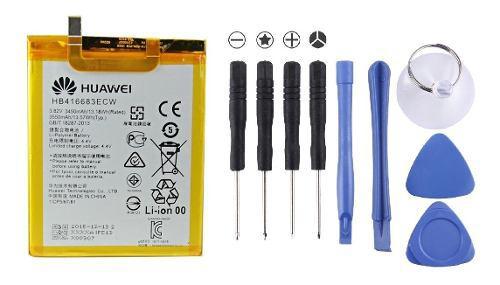 Bateria google nexus 6p original huawei + kit herramientas