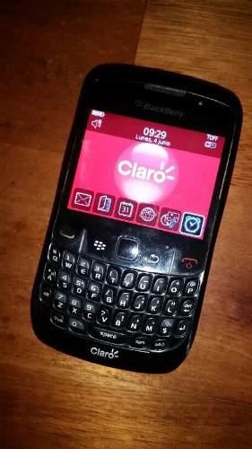 Blackberry curve 8520 3g gps wifi claro garantía batería