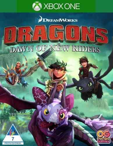 Dragons dawn of new riders xbox one juego fisico sellado
