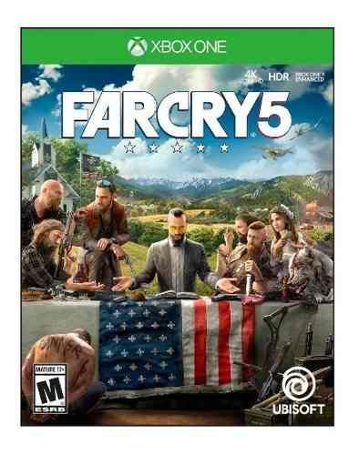 Far cry 5 xbox one juego cd nuevo original fisico sellado