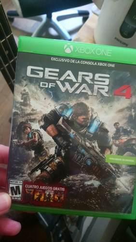 Gears of war 4 xbox one + 3 juegos gratis!