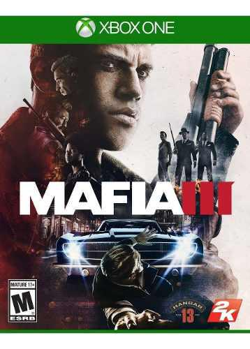 Mafia 3 xbox one juego nuevo original fisico sellado blu-ray
