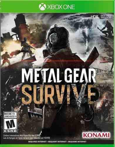 Metal gear survive xbox one juego cd original fisico sellado