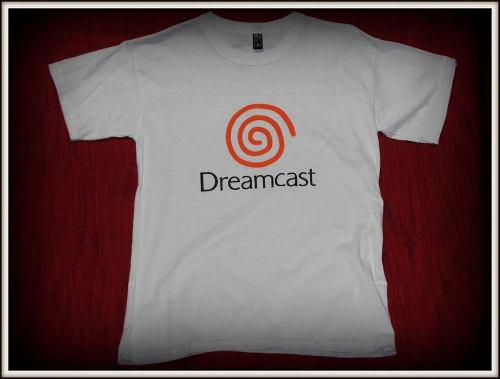 Remera serigrafiada pearl jam / tivoli sega dreamcast