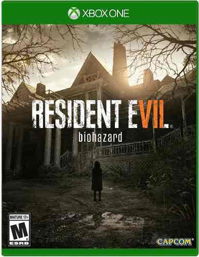 Resident evil 7 biohazard xbox one juego cd original fisico