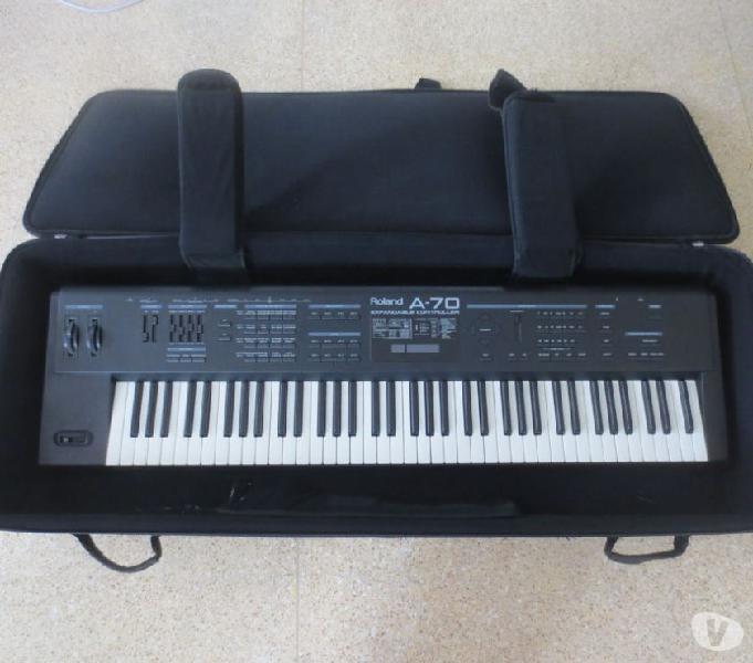 Roland a70 teclado, sintetizador, controlador midi