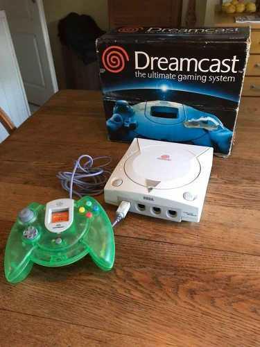 Sega dreamcast con caja y lectora 0km