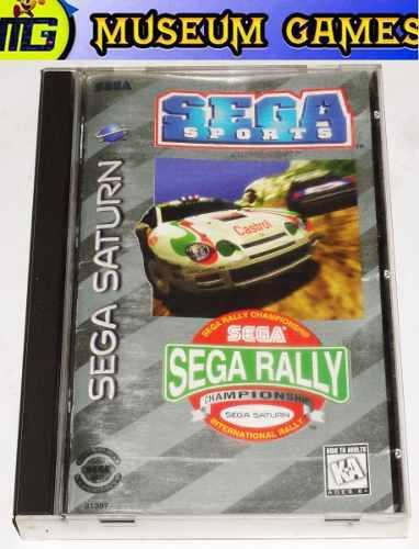 Sega rally championship sega saturn completo - local