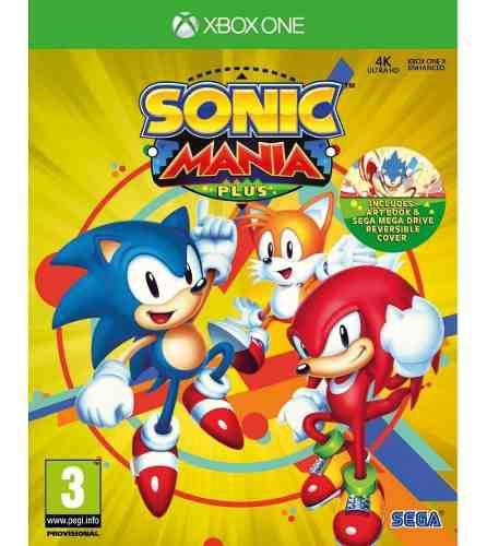 Sonic mania plus xbox one juego cd original fisico sellado