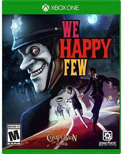 We happy few xbox one juego cd original fisico sellado