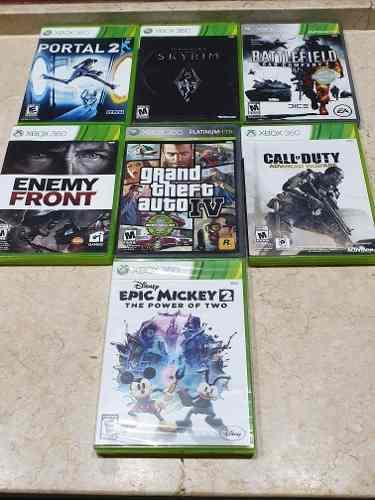 Xbox 360 lote 6 juegos fisicos original