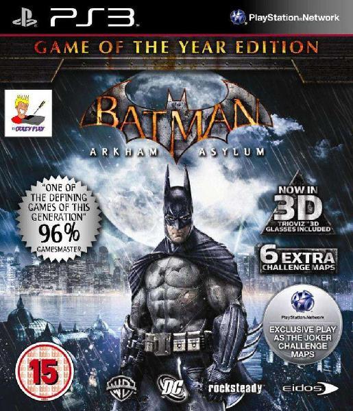 Batman - arkham asylum playstation 3