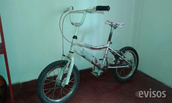 Bicicleta para niño rodado 16 en Godoy Cruz