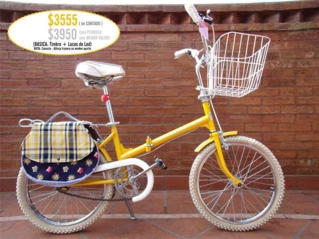 Bicicleta plegable rod 20 efectivo o permuta menor valor en