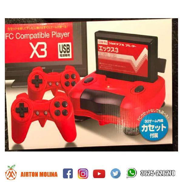 Consola de juego family x3