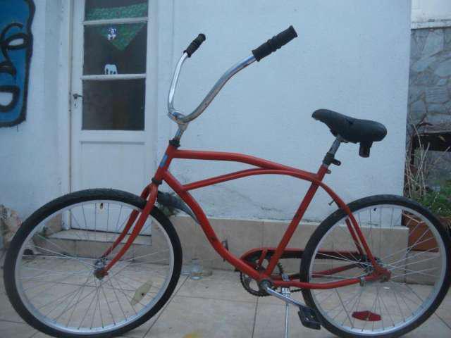 Cambio bicicleta playera rosado 26 x valija de viaje en San